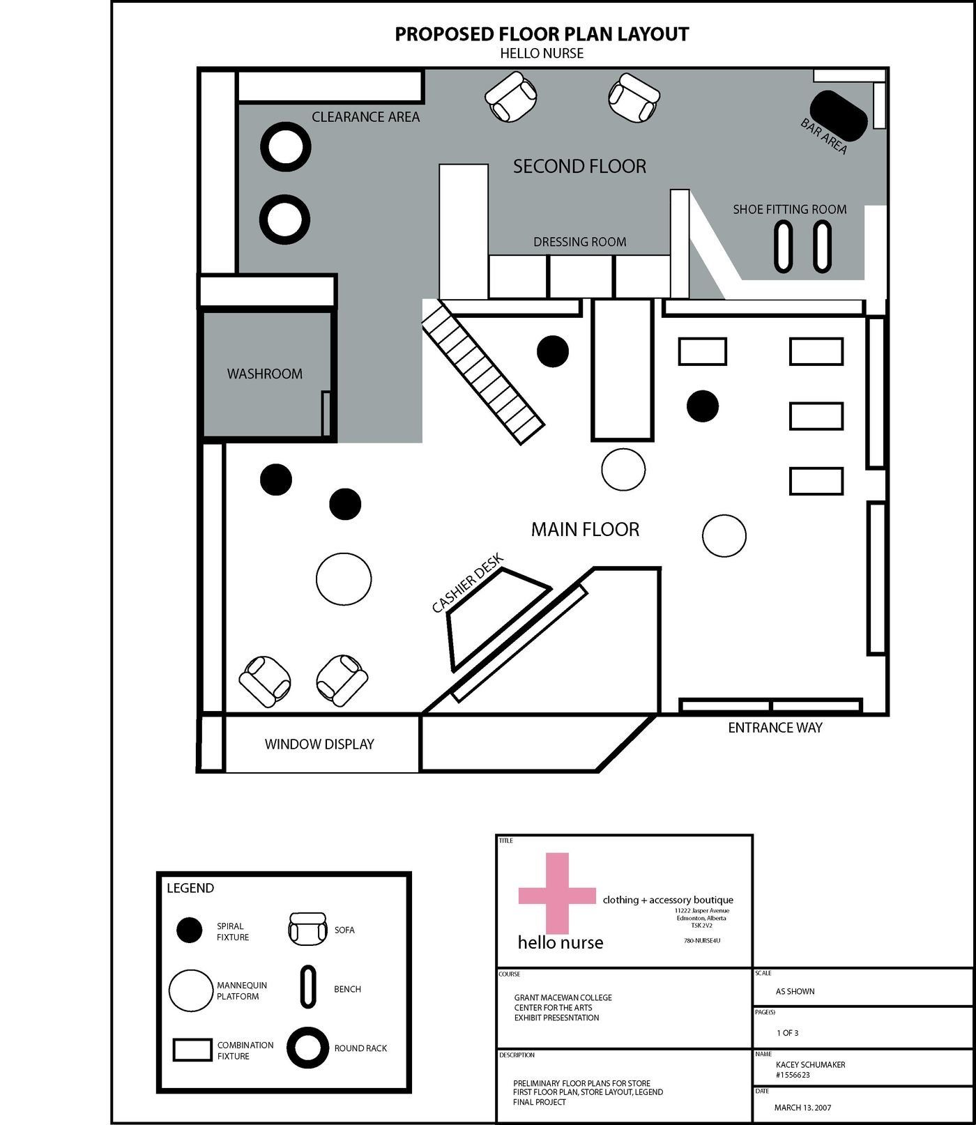 Model Building By Kacey Schumaker At Coroflot Com Floor Plans Store Layout How To Plan