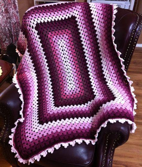 Window Afghan Stained Glass Free Crochet Pattern Free Crochet