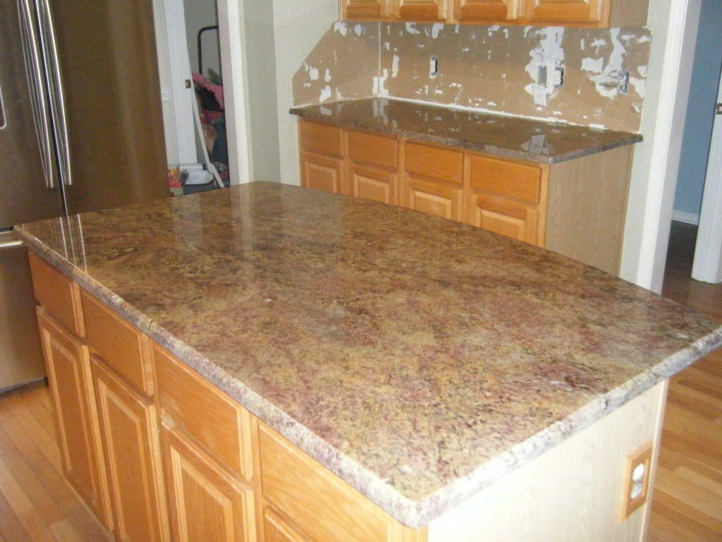 Red Montana Granite Countertops In Charlotte NC.