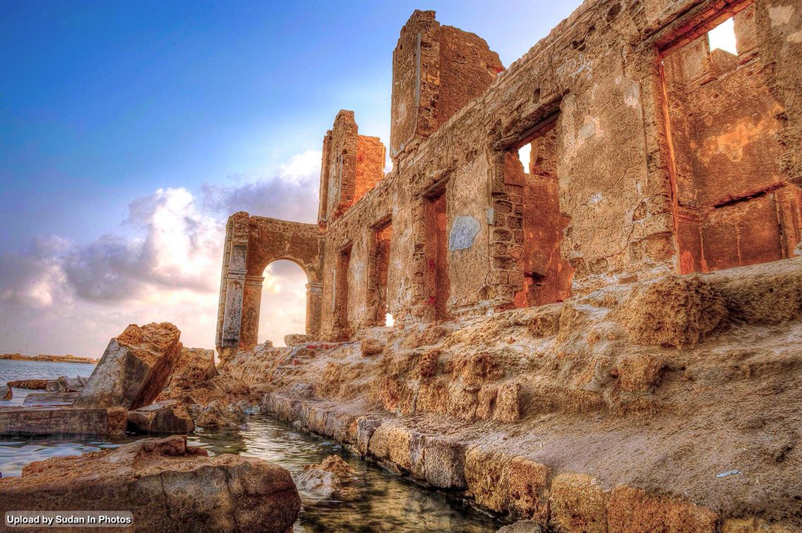 The Old City Suakin Red Sea State المدينة القديمة سواكن ولاية البحر الأحمر السودان By Hazim Elhag Sudan Suakin Por Egypt Red Sea Abandoned Places