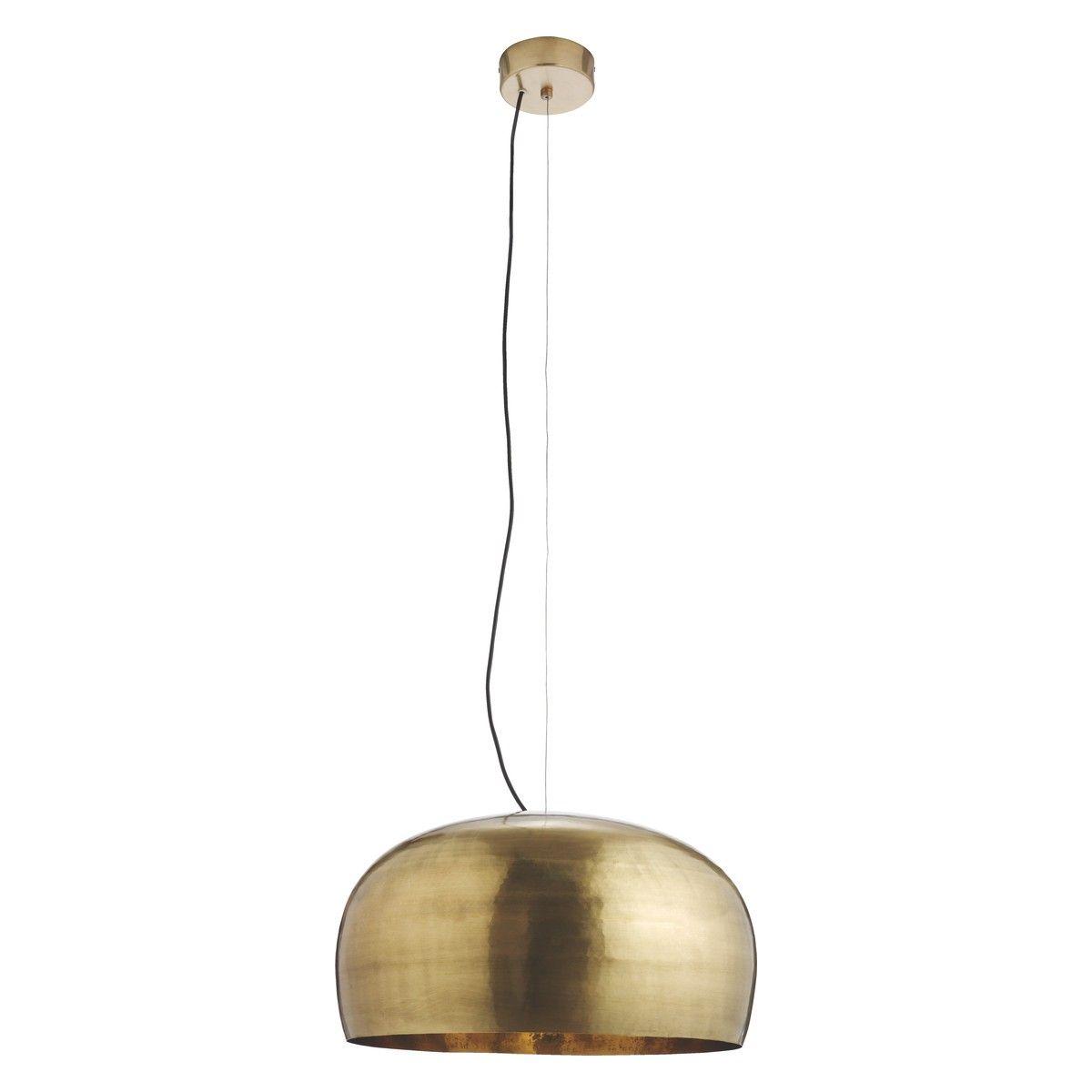 MARTEAU Large Brass Metal Ceiling Light