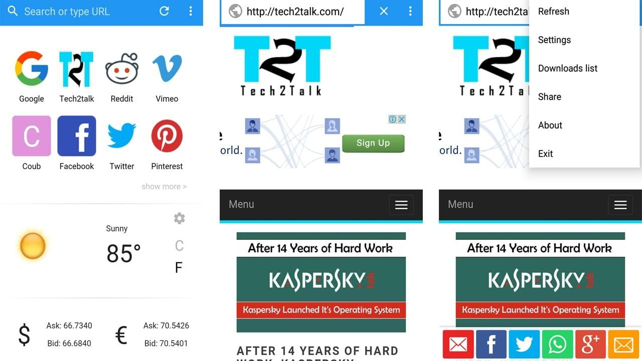How to build your own android web browser app without