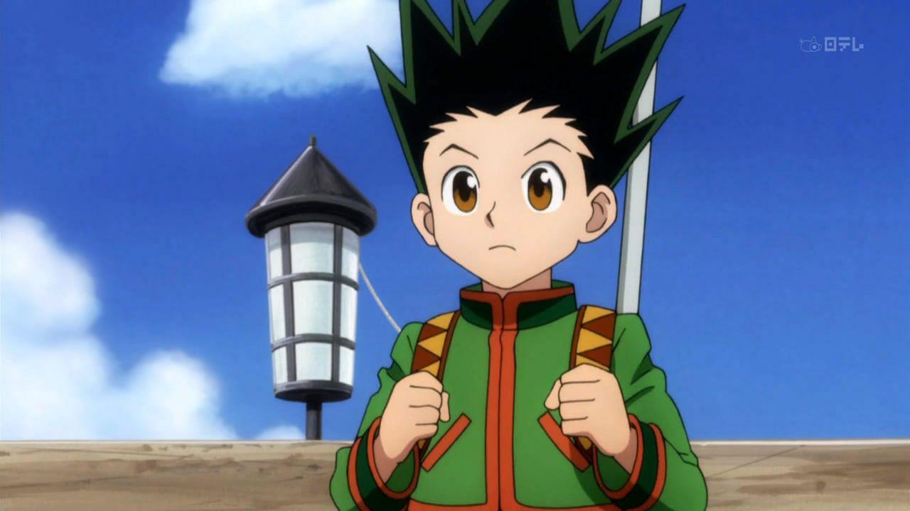 anime hunter x hunter denim jacket