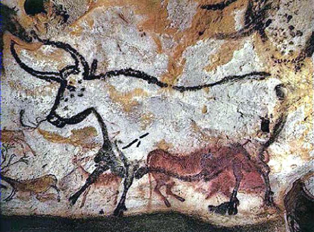 Frankreich Höhlenmalerei