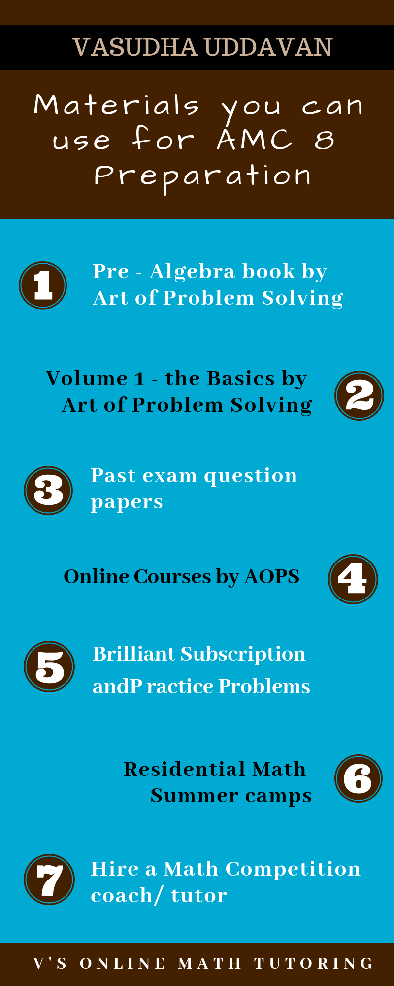 How to prepare for AMC 8 | Middle school math | Math tutor