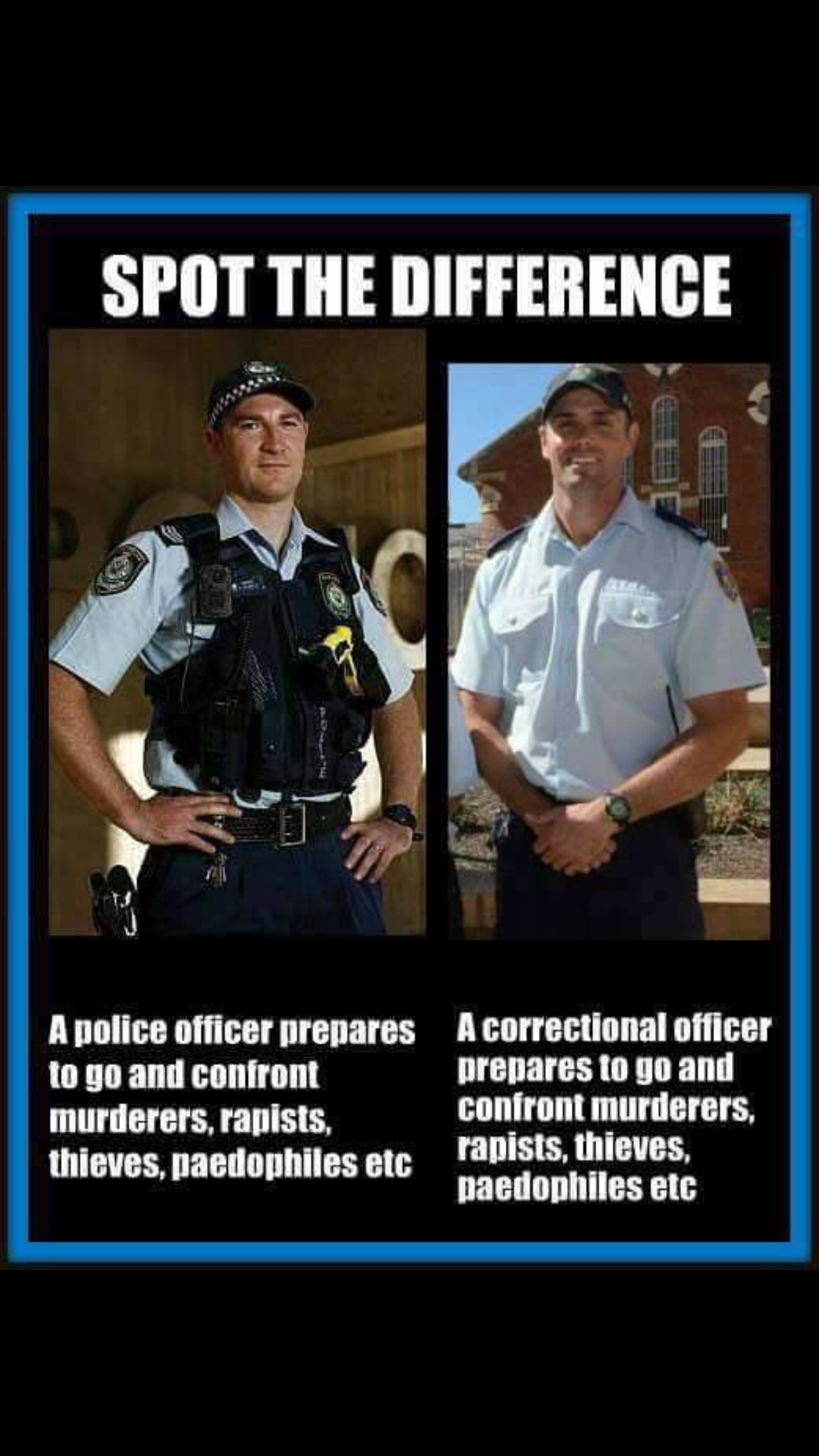 Respect for the Corrections Officers | Funny, true or just ...