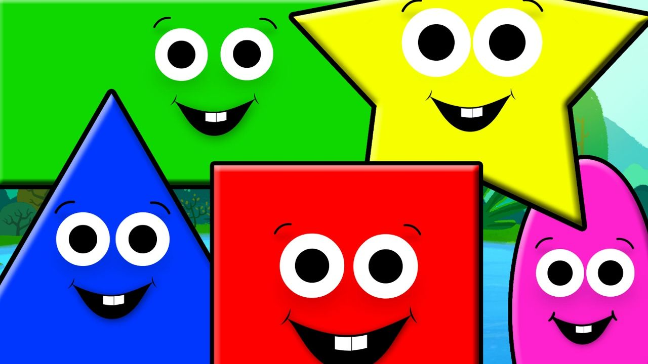 Children\'s Fun Learning brings new nursery rhyme, the shapes song ...
