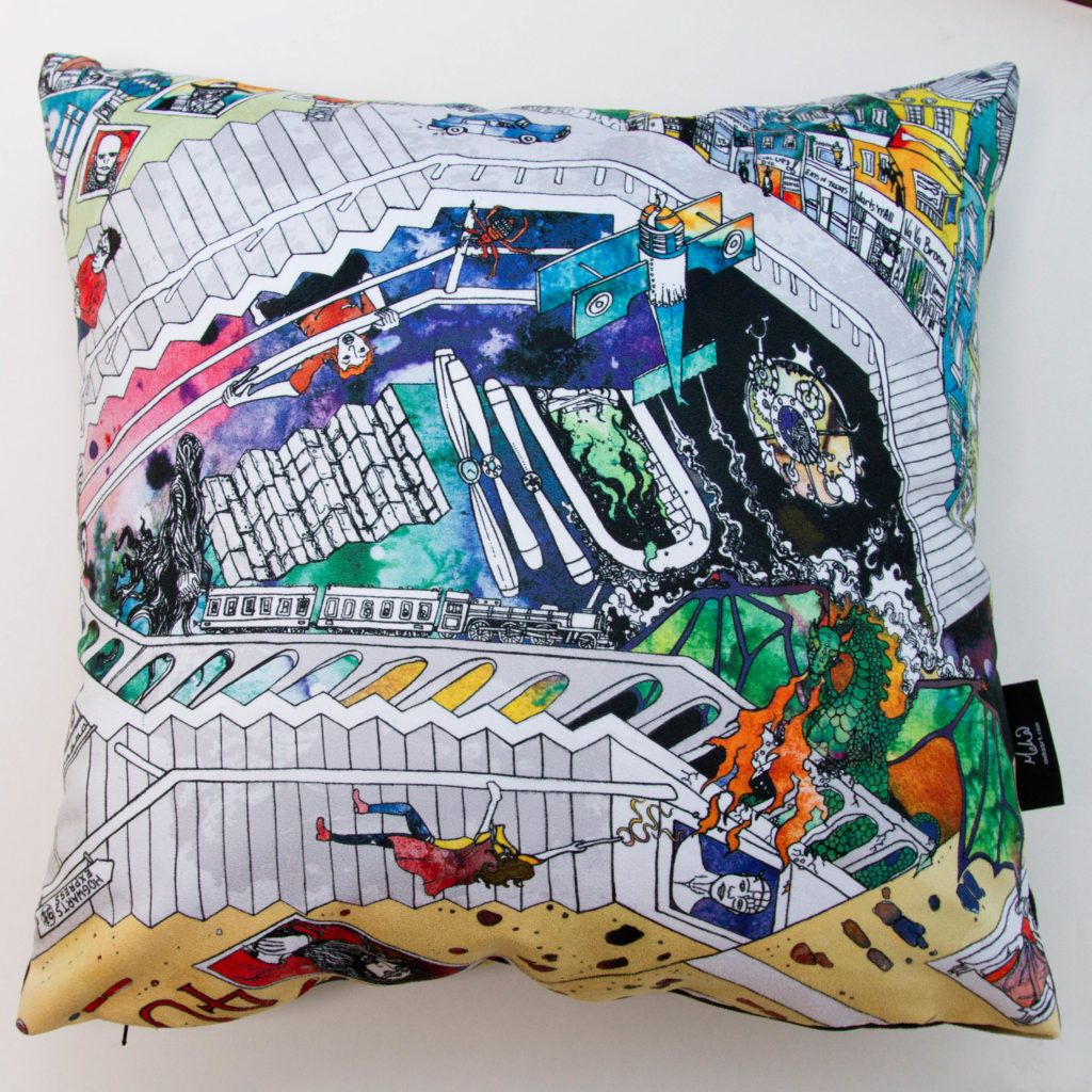 Colourful harry potter soft snugly cushion in 2020