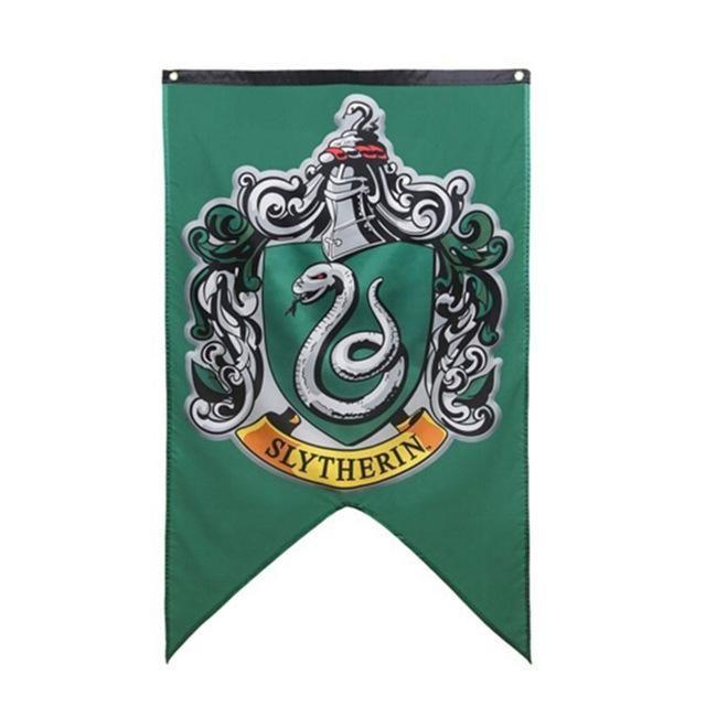 Hogwarts Flag Banners Gryffindor Slytherin Hufflerpuff Ravenclaw Harry Potter Theme Party Harry Potter Party Supplies Harry Potter Hogwarts Houses