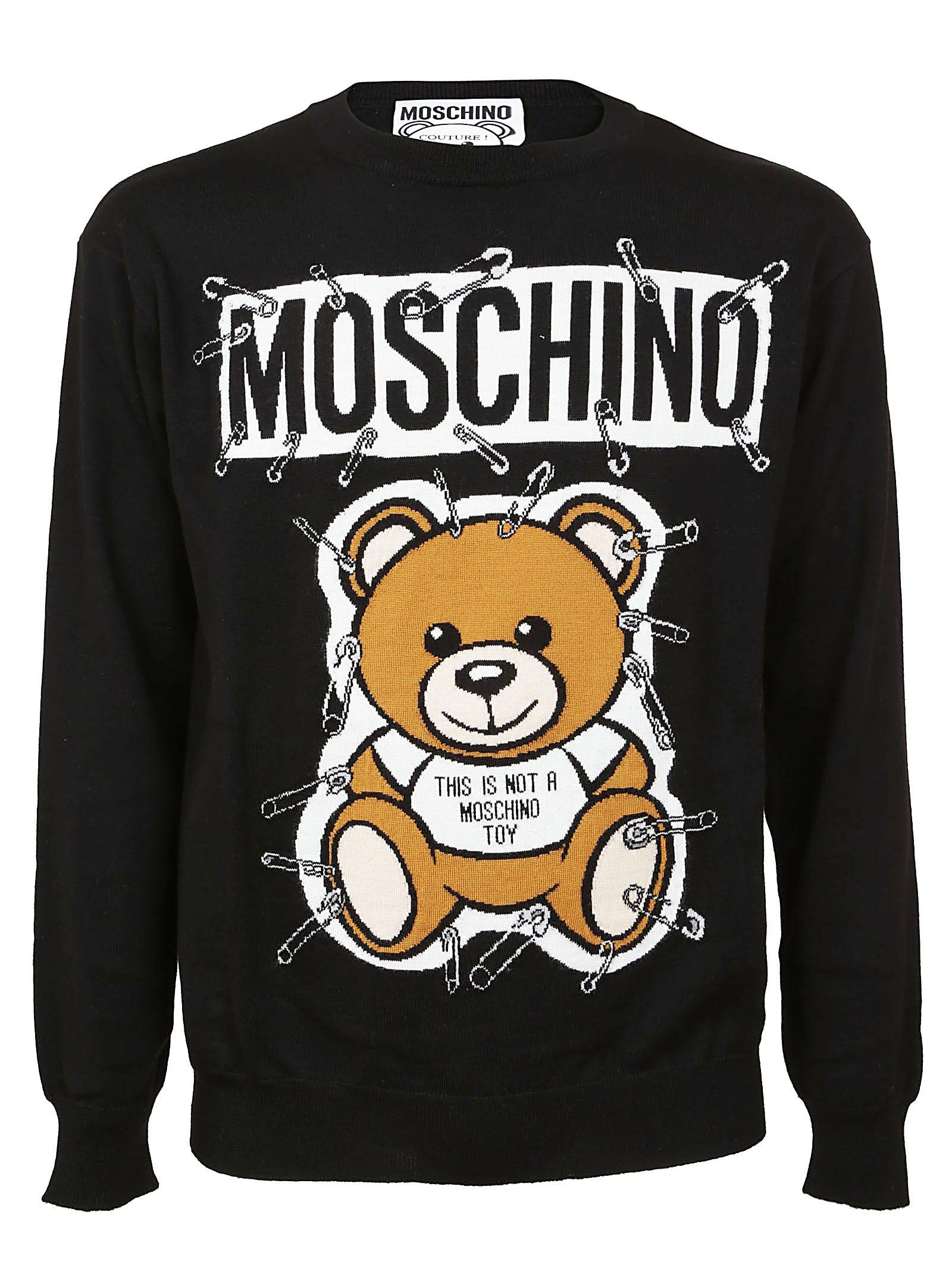 684dfe6e87d MOSCHINO 回形针小熊套头衫.  moschino  cloth