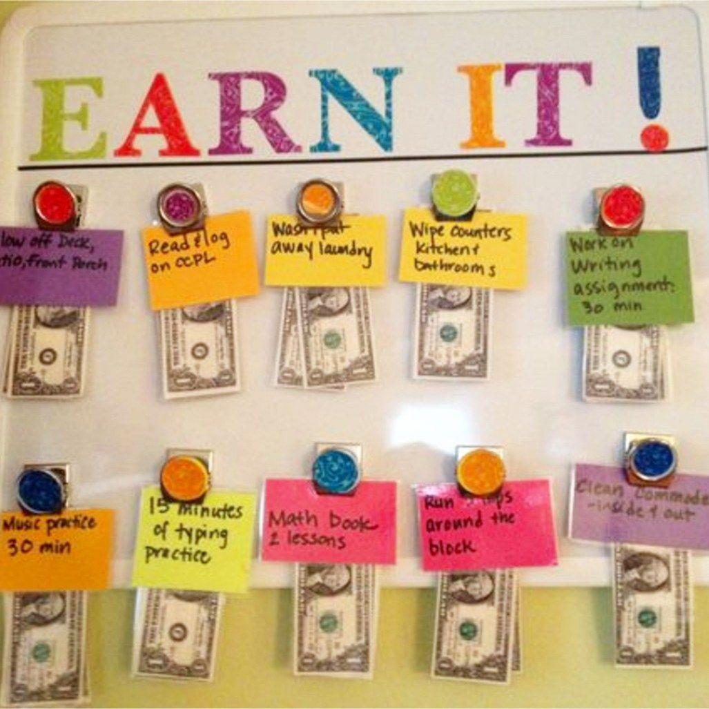 Chore Chart Ideas! Easy DIY Chore Board Ideas For Kids
