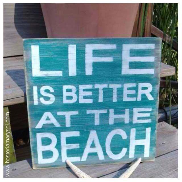 """Siempre va a ser mejor pasar unos días en la #playa ... """"En el #mar la vida es más sabrosa"""" y más si es en #SanAndrés :) #HosteríaMarySol"""