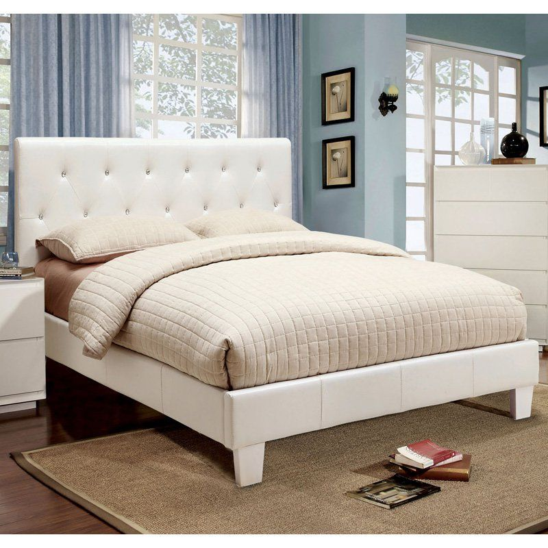 Have to have it. Avara Rhinestone Tufted Platform Bed - $279.99 ...
