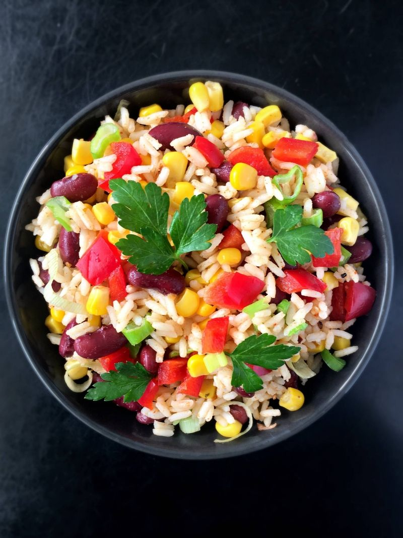 Easy Mexican Rice Salad Recipe Vegan
