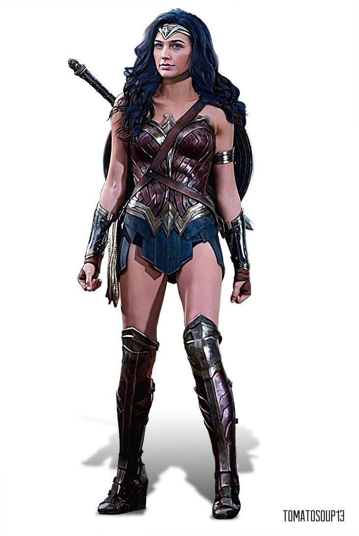 Wonder Woman Gal Gadot By Tomatosoup13 Gal Gadot Wonder Woman Wonder Woman Wonder Woman Movie
