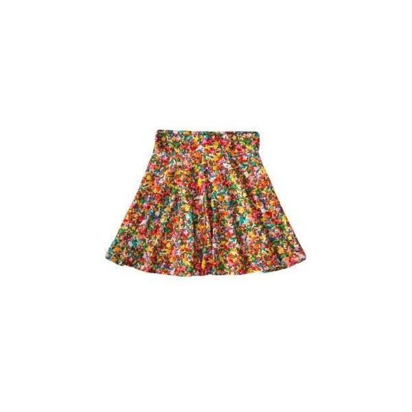 Pretty Snake Women's Sprinkles Skater Skirt ($58) ❤ liked on Polyvore featuring skirts, snake skirt, flared skirt, circle skirt and skater skirt