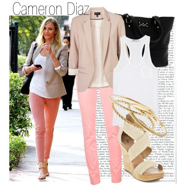Cameron Diaz, created by helomuniz on Polyvore.
