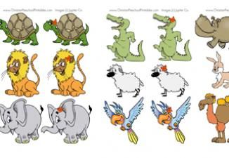 Free Memory Game Noah S Ark Noahs Ark Animals Noahs Ark Craft