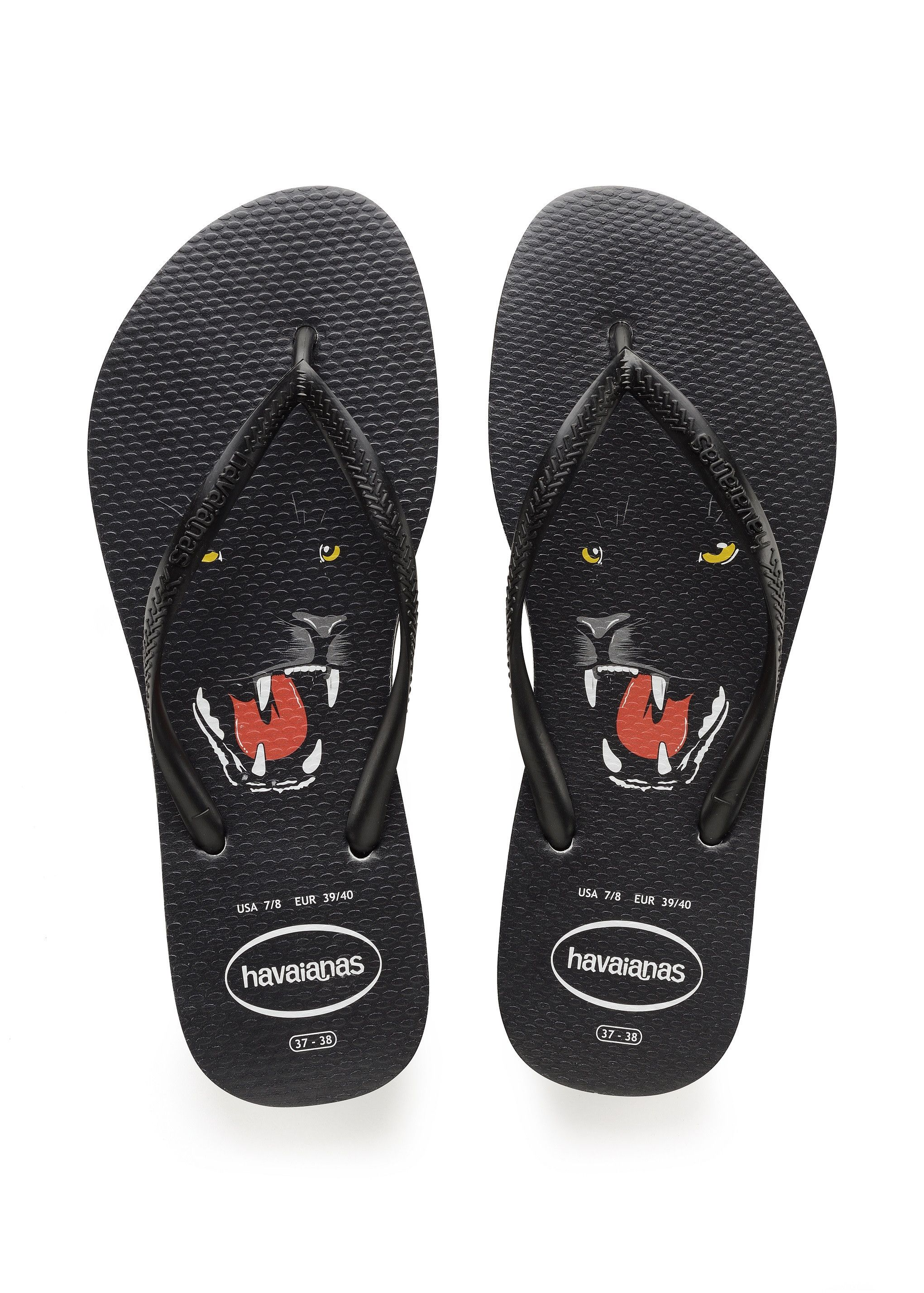 70ec54cbddde Havaianas Slim Wild Sandal Black White Price From  ₩30