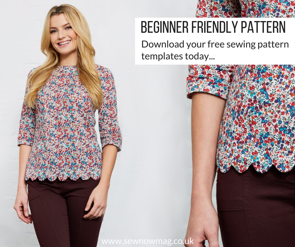 easy sew long sleeved to sewing pattern | Clothing | Sewing, Sewing ...