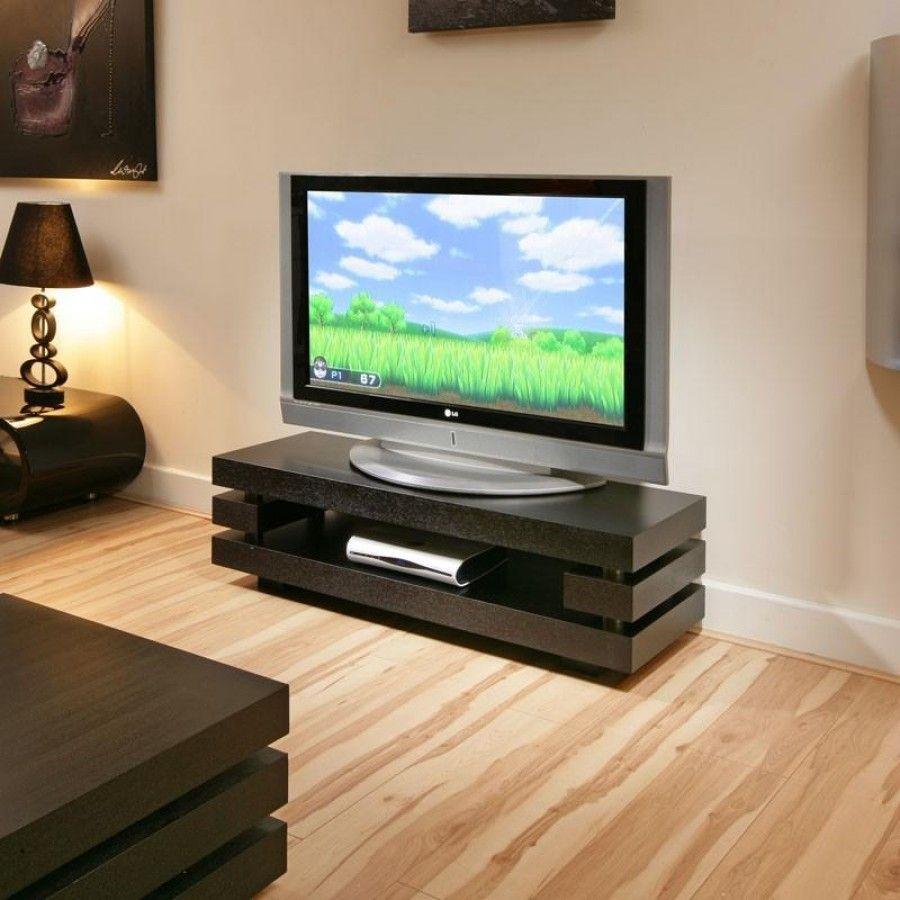 designer television standcabinet black oak flat packed  inch  - designer television standcabinet black oak flat packed  inch ffeatures hidden stainless