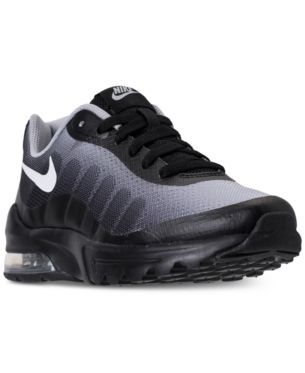 online store 63df1 7a136 Nike Little Boys  Air Max Invigor Print Running Sneakers from Finish Line -  Black 2.5