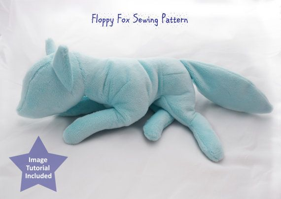 PlanetPlush Floppy Fox Sewing Pattern | Nähen schnittmuster ...