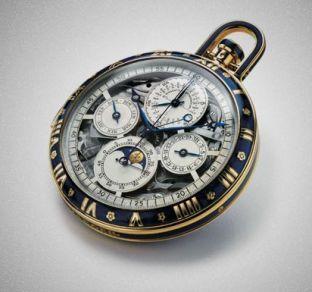 Jaeger-LeCoultre - Grande complication email bleu