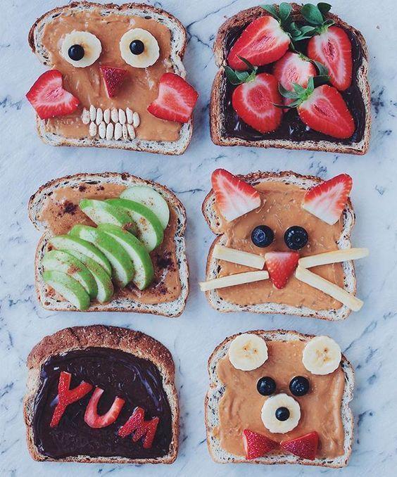 Ideas De Desayunos Saludables Para Niños Mons Petits Desayunos Blog Desayunos Saludables Para Niños Desayuno Para Niños Desayuno Divertido
