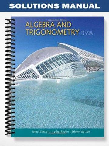 solutions manual for algebra and trigonometry 4th edition by stewart rh pinterest com Physics Solutions Manual Textbook Solution Manuals