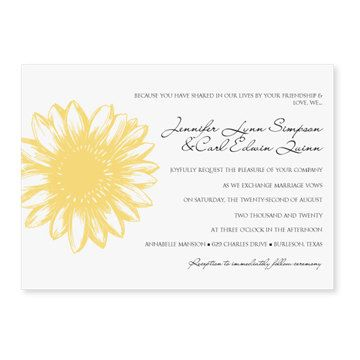 Wedding Invitation Template - DOWNLOAD INSTANTLY - Vintage Daisy - ms word invitation templates free download