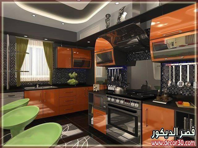 سر اناقة مطبخك عندنا بهذه الديكورات ، Kitchens beautiful designs
