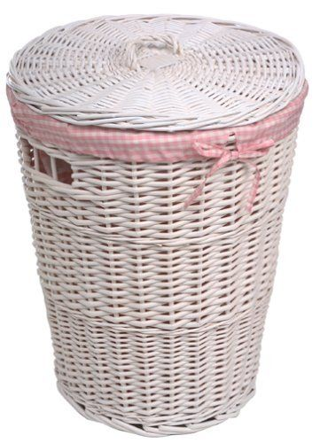 Pink Laundry Basket Clothes Hamper Basket Burlington Baby