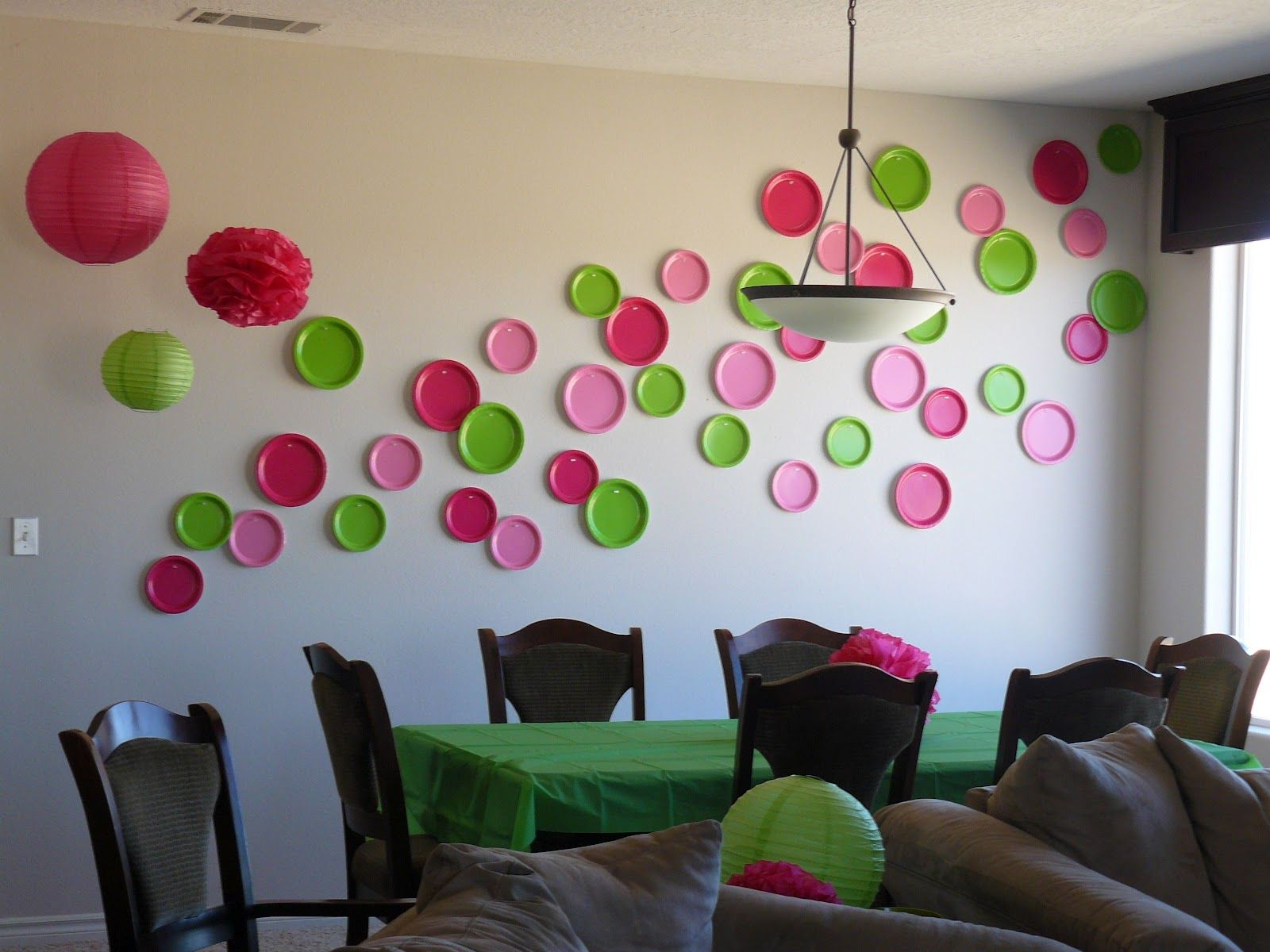 baby shower house decorations - google search | purple/ red shower