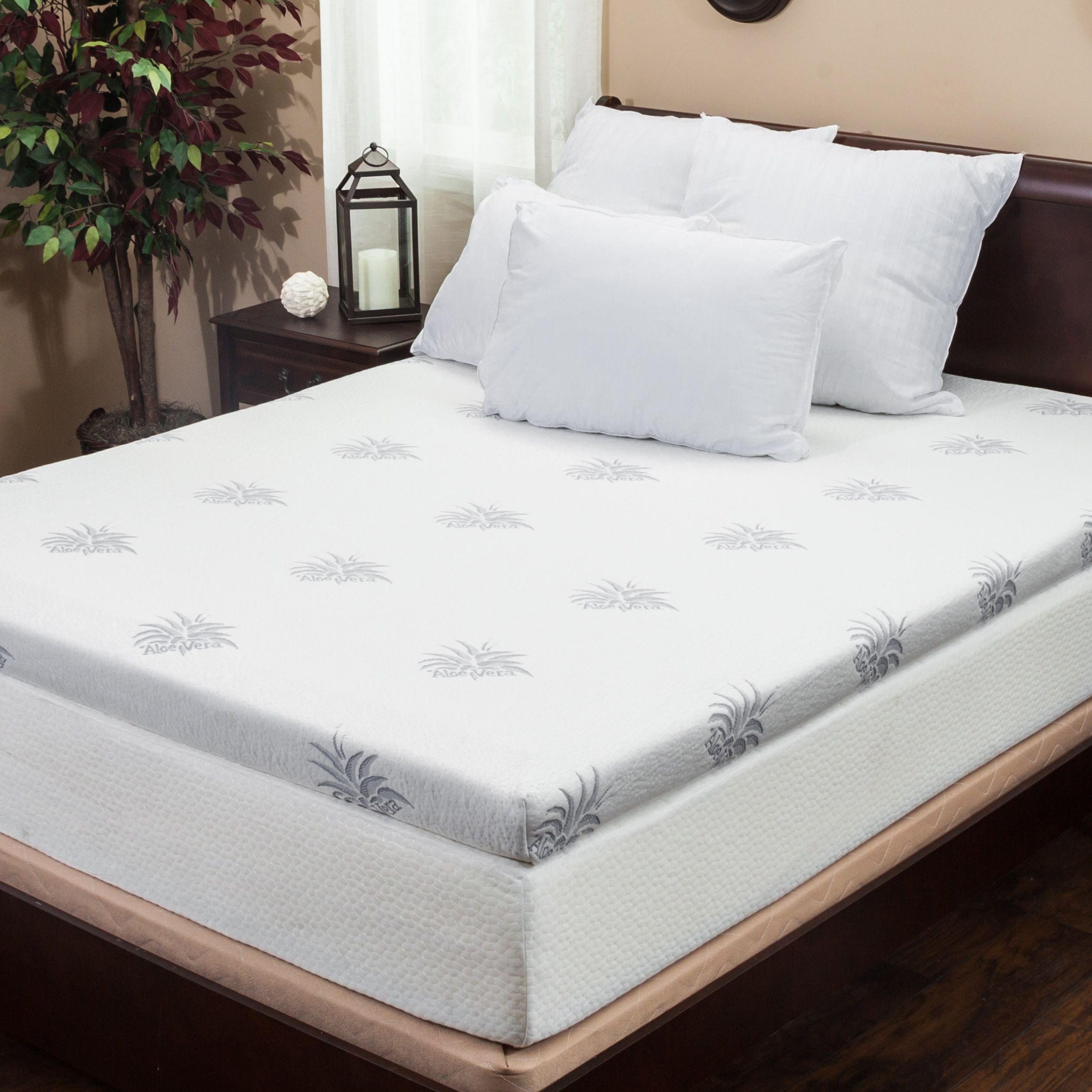 Christopher knight home 4inch duallayer queensize gel