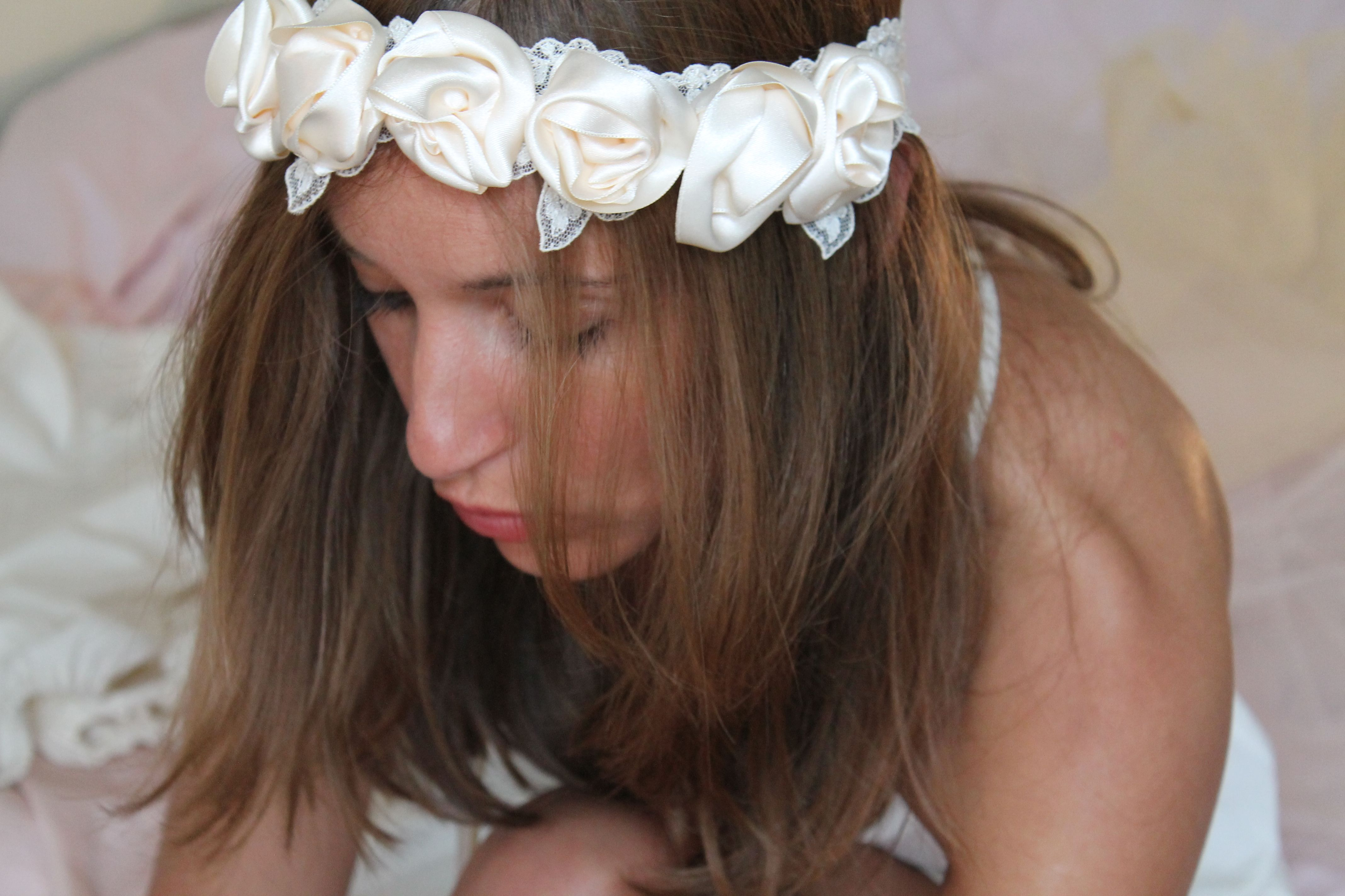 Headband 1912 - Collection mariage - Noeud me quitte pas
