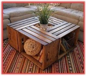 13 Como hacer una mesa con huacales