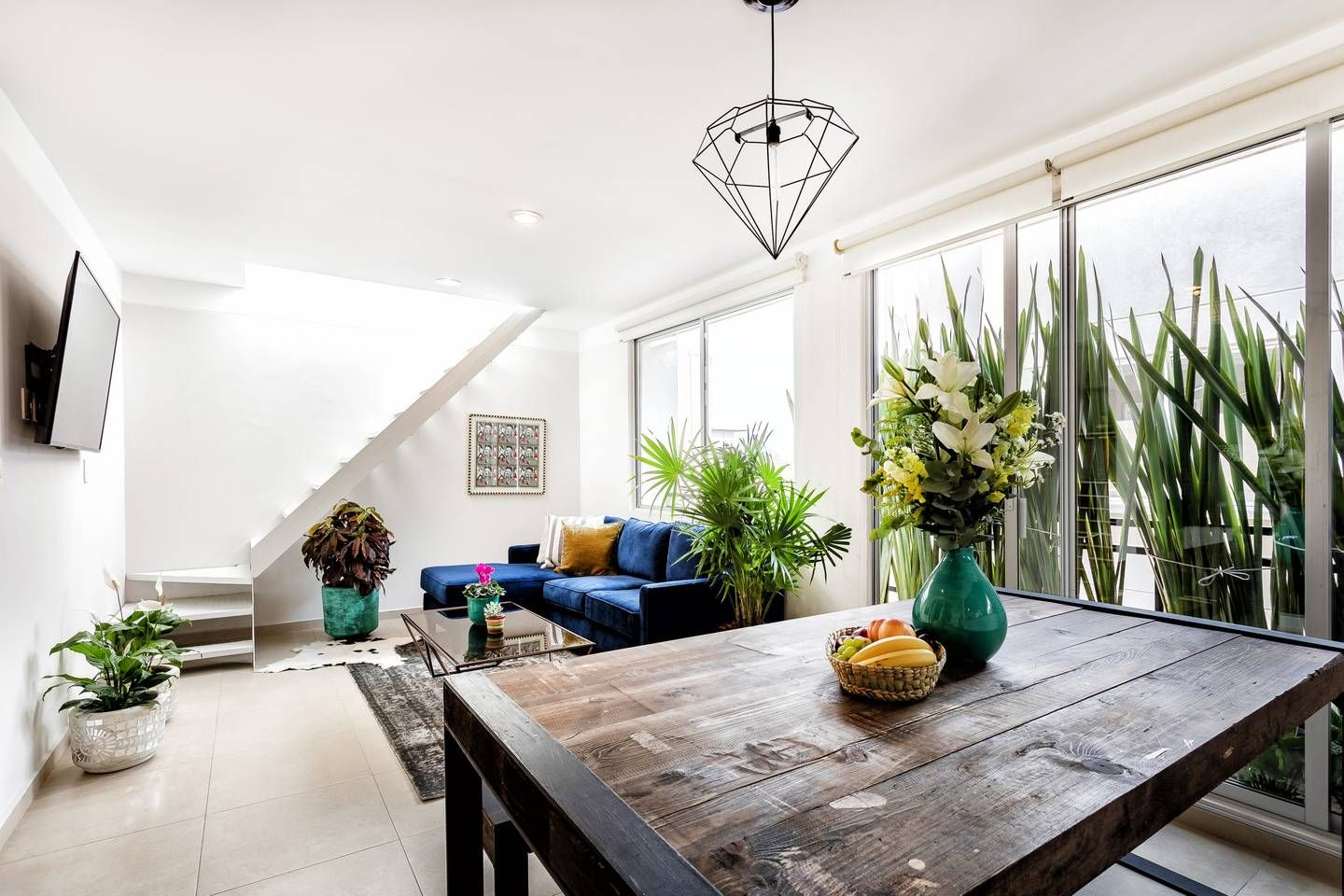 Penthouse In Roma Condesa With Private Roof Garden Serviced Apartments For Rent In Ciudad De Mexico Rustic Dining Table Apartments For Rent Pent House