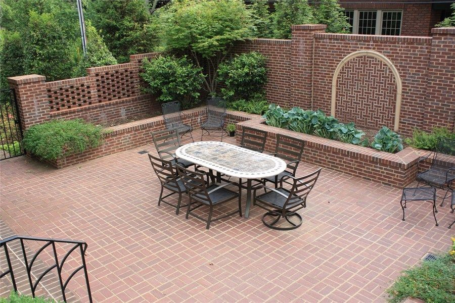 30 Vintage Patio Designs with Bricks Brick patios Patios and