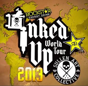 Sullen TV: Rockstar Inked Up Tour Convention Coverage Philadelphia Part I (VIDEO)