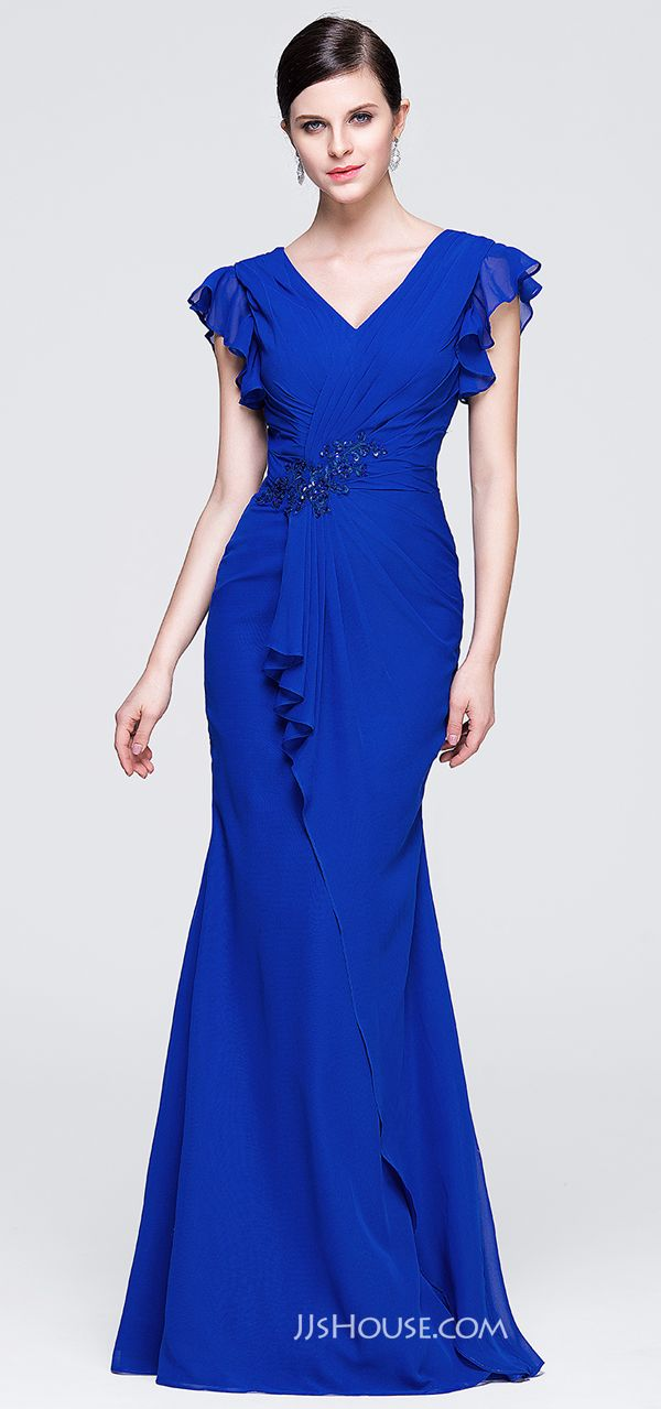Let your inner goddess shine in this royal evening dress.  JJsHouse   Eveningdresses 9cbc1ba4ed4f