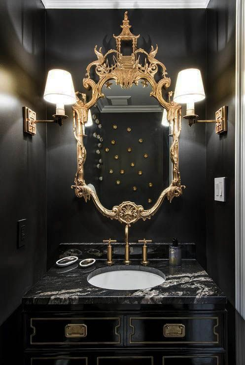 10 Pretty Powder Rooms images