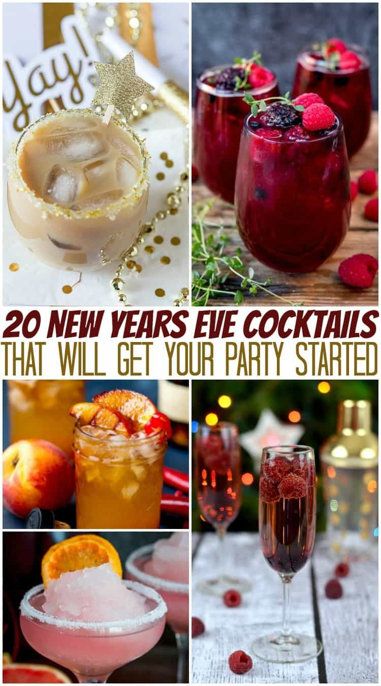 New Years Eve Cocktails   20 Beautiful Cocktails for New Years