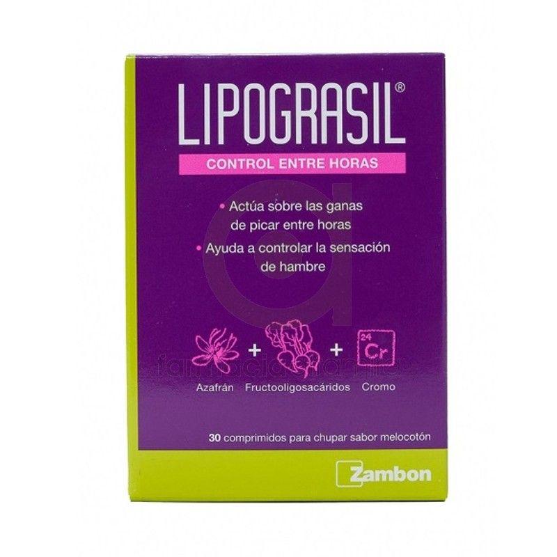 Lipograsil Control entre horas, reduce el ansia por el picoteo o de comer entre horas, el perfecto aliado para tu dieta.