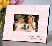 Engraved Bridesmaid Gifts | I Do Engravables Personalized. Gift for your flower girl