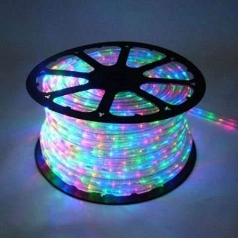 10mm 150 Spool Of Multi Colored Led Ropelight Products