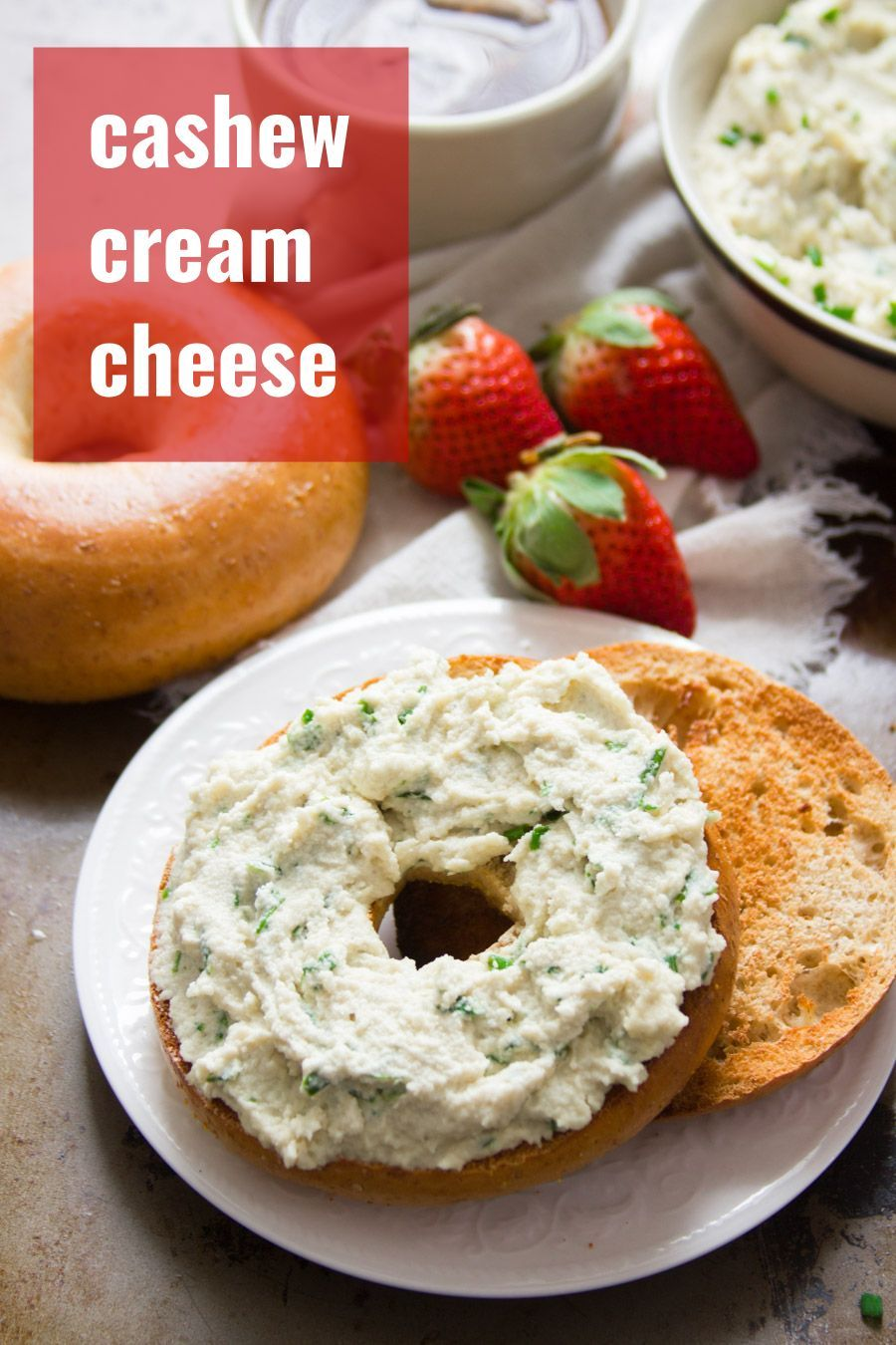 Totally Vegan Cream Cheese Heck Yeah It S Not Only Possible It S Delicious Too This Dreamy Cashew Cream C Vegan Pantry Vegan Cream Cheese No Dairy Recipes