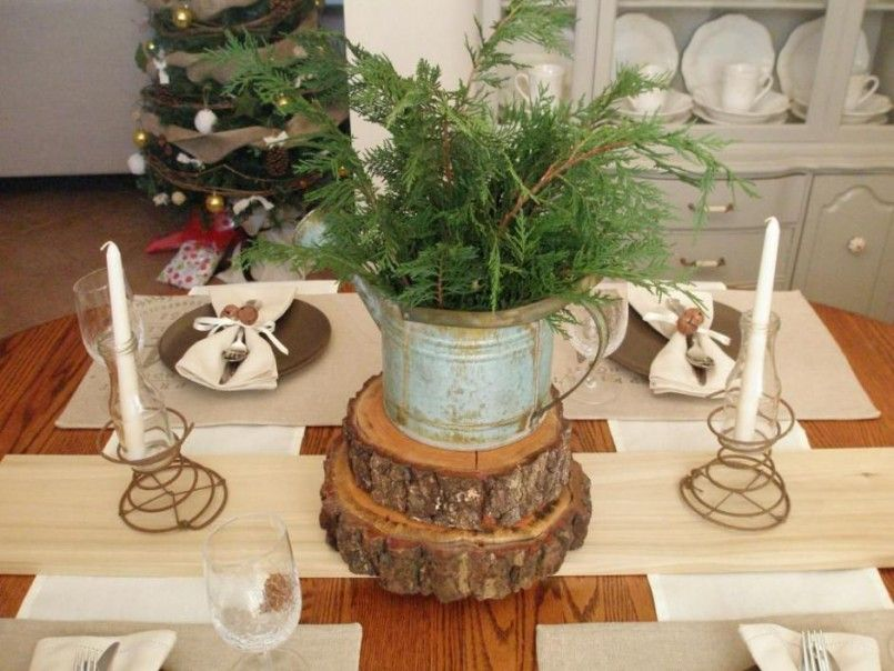 White Lacquer Dining Table Christmas Dinner Table Setting Ideas Retro Christmas Decorating Ideas 940x705 & White Lacquer Dining Table Christmas Dinner Table Setting Ideas ...