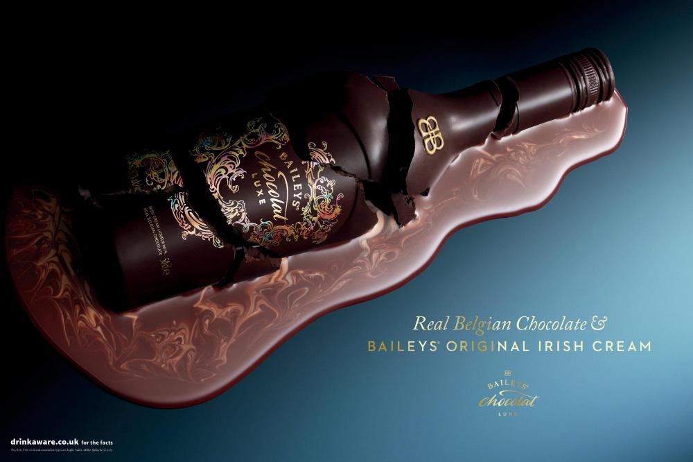 Baileys Print Advert By 101 Broken Ads Of The World Baileys Broken Bottle Alcohol
