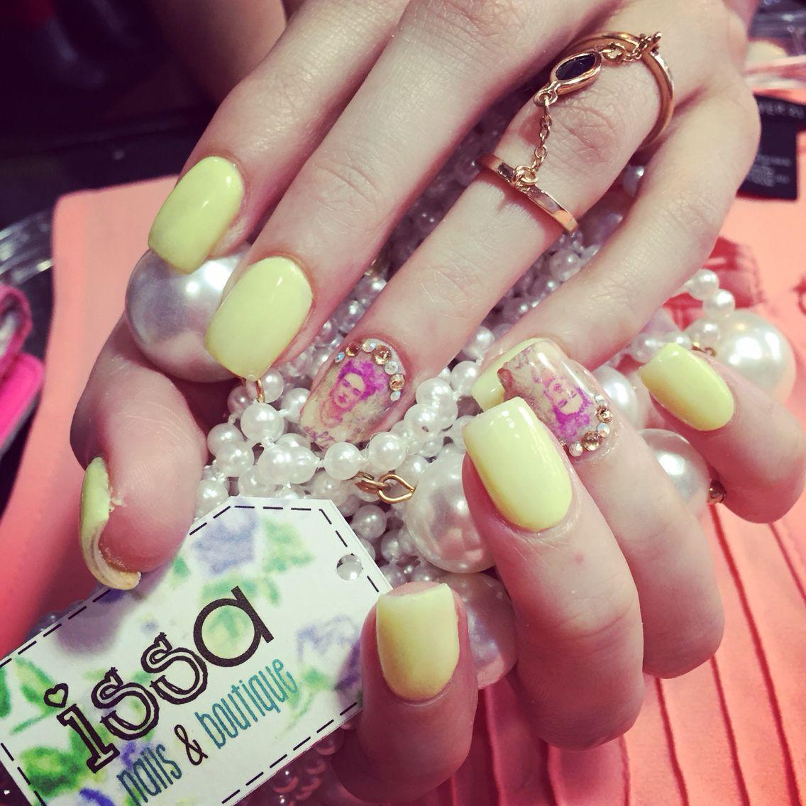 Nails Frida Kahlo #beauty Nails @issanailsboutique   Uñas issa nails ...